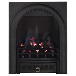 View Focal Point Arch Black Inset Gas Fire details