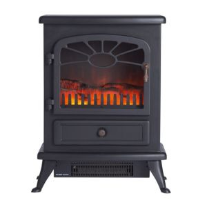 View Focal Point Es2000 Black Electric Freestanding Electric Stove details