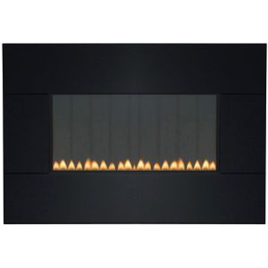 View Focal Point Piano Black Manual Control Wall Hung Gas Fire details