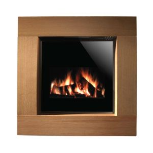 View Focal Point Nero Cube Flat Against Wall Electric Fire Suite details