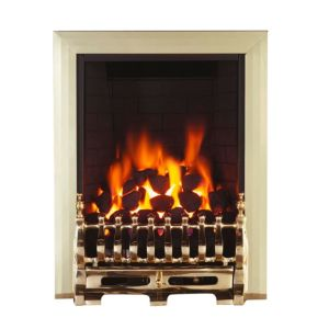 View Focal Point Blenheim Black Remote Control Inset Gas Fire details