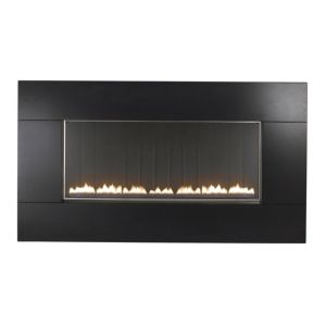 View Focal Point Pinoir Black Manual Control Wall Hung Gas Fire details