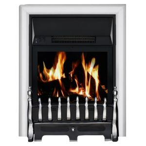 View Focal Point Blenheim Chrome Effect Remote Control Inset Electric Fire details