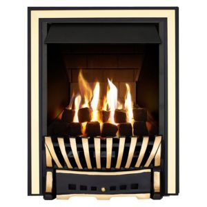View Focal Point Elegance Black Manual Control Inset Gas Fire details