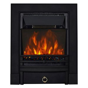 View Focal Point Soho Black LED Display Electric Inset Fire details