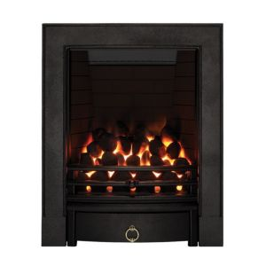View Focal Point Soho Black Remote Control Inset Gas Fire details