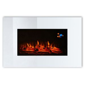 View Focal Point Osmington LED Display Electric Wall Hung Fire, Mirrored details