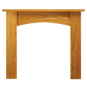 View Nebraska Oak Veneer MDF Fire Surround details