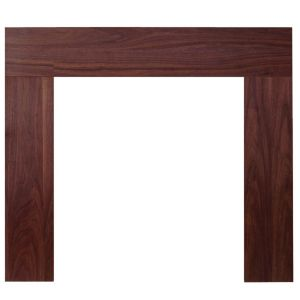 View Wichita Walnut Veneer MDF Fire Surround details