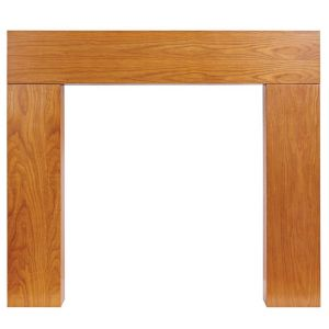 View Wichita Oak Veneer Oak MDF Fire Surround details