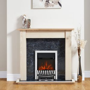 View Focal Point Elegance Black Inset Electric Fire Suite details