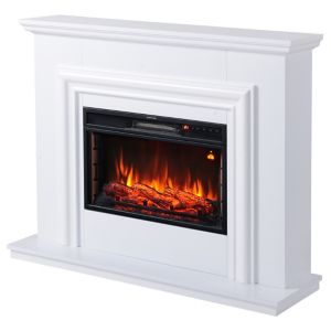 Image of Focal Point Amersham White LED Remote control Electric fire suite
