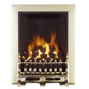 View Focal Point Blenheim Manual Control Inset Gas Fire details