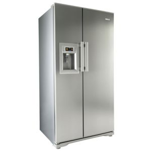 View Beko GNEV321APX Silver Side By Side Fridge Freezer details