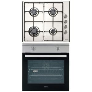 Beko Single Fan Oven & Gas Hob