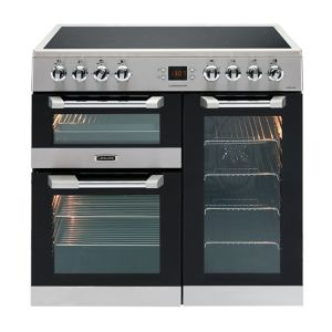 Image of Leisure Freestanding Electric Range Cooker with Ceramic Hob CS90C530X
