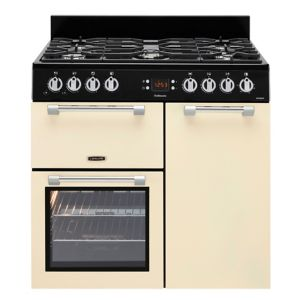Leisure Freestanding Dual Fuel Range Cooker with Gas Hob  CK90G232K
