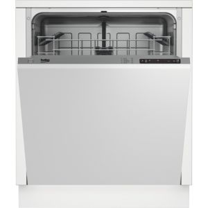 Beko DIN15210 Integrated Full Size Dishwasher  White