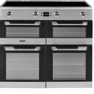Image of Leisure Freestanding Electric Range cooker with Induction hob CS100D510X