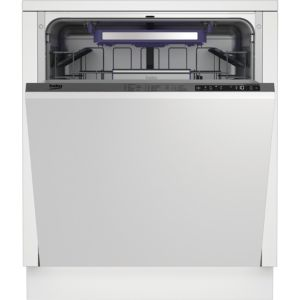 Beko DIN28Q20 Integrated Full Size Dishwasher  Natural