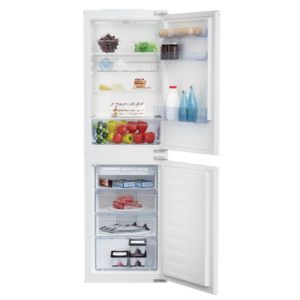 Beko BCSD150 50/50 White Integrated Combi Fridge Freezer 50:50