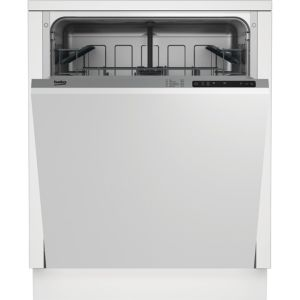 Beko DIN15211 Integrated Full Size Dishwasher  White