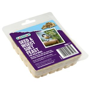 View Gardman Suet Feast Wild Bird Feed 300G details