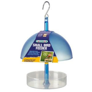 View Gardman Blue Plastic Bird Feeder (H)150mm details