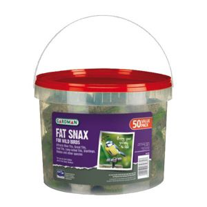 View Gardman Fat Snax Wild Bird Feed 4.5kg, Pack of 50 details