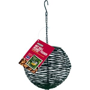 View Gardman Black Metal Bird Feeder (H)140mm details