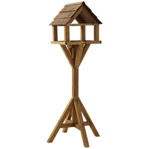 View Gardman Honey Pine Effect Timber Bird Table (H)1450mm (W)600mm (D)600mm details