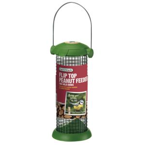 View Gardman Green Plastic & Steel Bird Feeder (H)200mm details