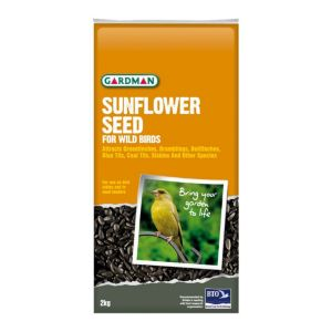 View Gardman Sunflower Seed Wild Bird Feed 2kg details