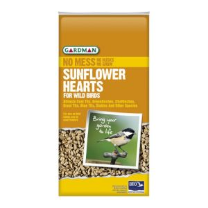View Gardman Sunflower Heart Wild Bird Feed 1kg details