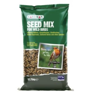 View Gardman Seed Mix Wild Bird Feed 12.75kg details