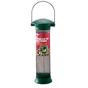 View Gardman Green Plastic & Steel Bird Feeder (H)320mm details