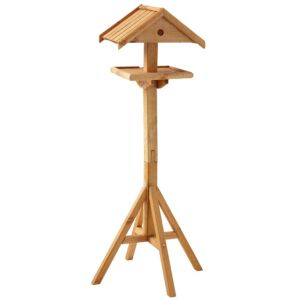 View Gardman Light Wood Bird Table details