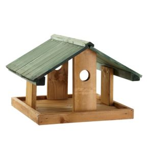 View Gardman Timber Bird Table (H)285mm (W)414mm (D)400mm details