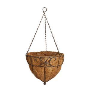 Image of Gardman Distressed decorative Hanging basket 304.8 mm