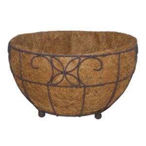 Image of Distressed Floor Planter (H)20cm (L)35cm