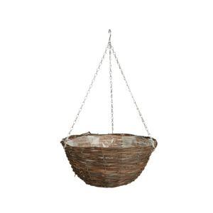 Gardman Rattan Hanging Basket 12