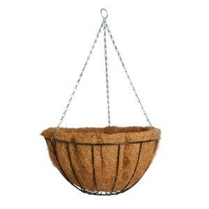 Image of Gardman Classic Black Hanging basket 355.6 mm