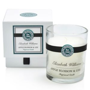 View Elizabeth Williams Apple Blossom & Lily Boxed Jar Candle details