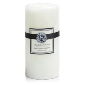 Image of Elizabeth Williams Sweet Pea & Freesia Pillar Candle