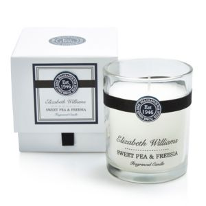 Image of Elizabeth Williams Sweet Pea & Freesia Boxed Jar Candle