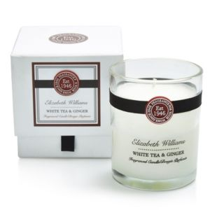 Image of Elizabeth Williams White tea & ginger Boxed jar candle