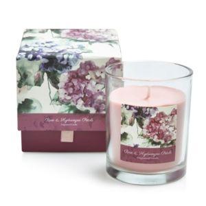 Image of Bloom Rose & hydrangea petal Boxed jar candle