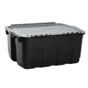 View Curver Black & Grey 48 L Plastic Storage Box details