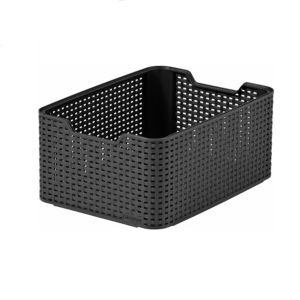 View Curver Black 18 L Plastic Storage Basket details