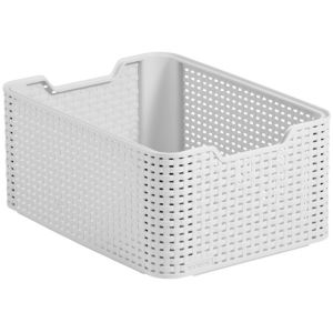 View Curver White 18 L Storage Basket details
